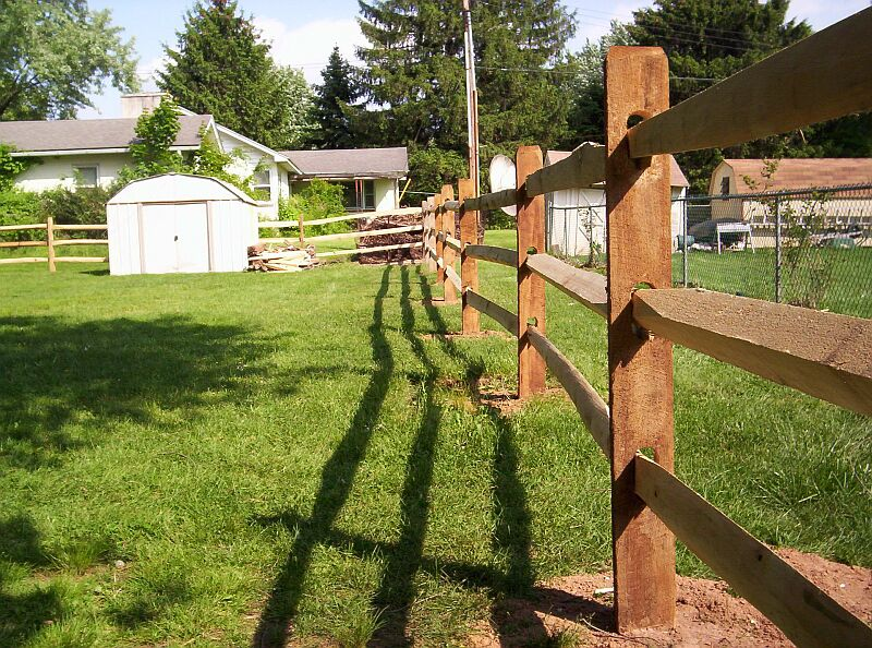 Split rail fence installation tips for Fence installation tips